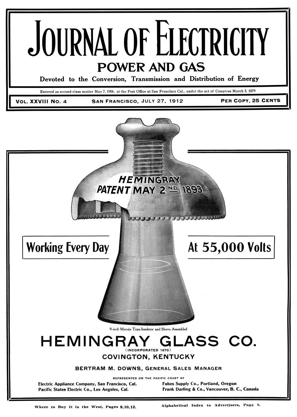 Hemingray Muncie The Gerry Insulator